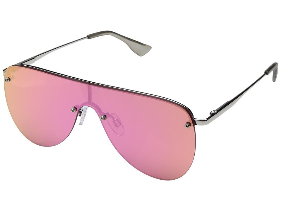 Le Specs The King (Silver) Fashion Sunglasses