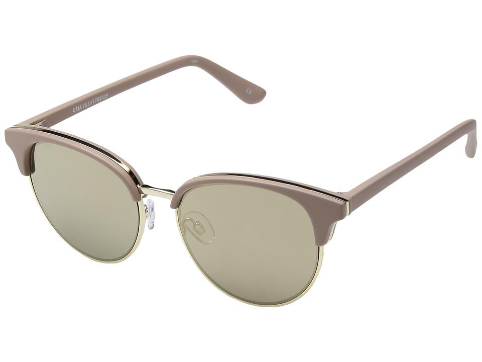 Le Specs Deja Vu (Matte Shell) Fashion Sunglasses