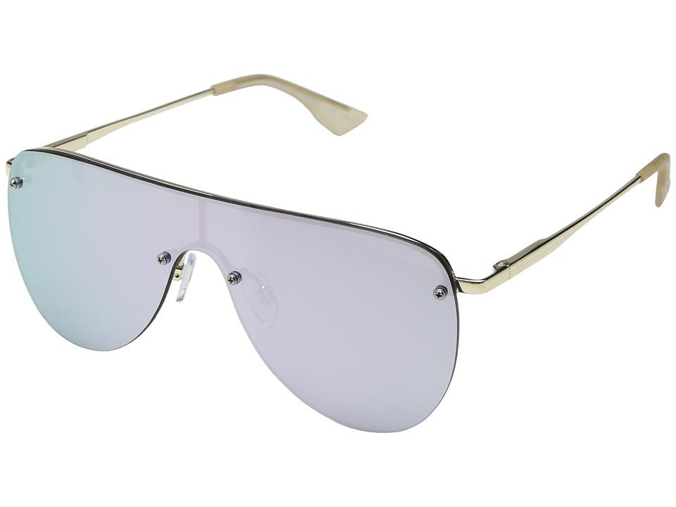 Le Specs The King (Gold) Fashion Sunglasses