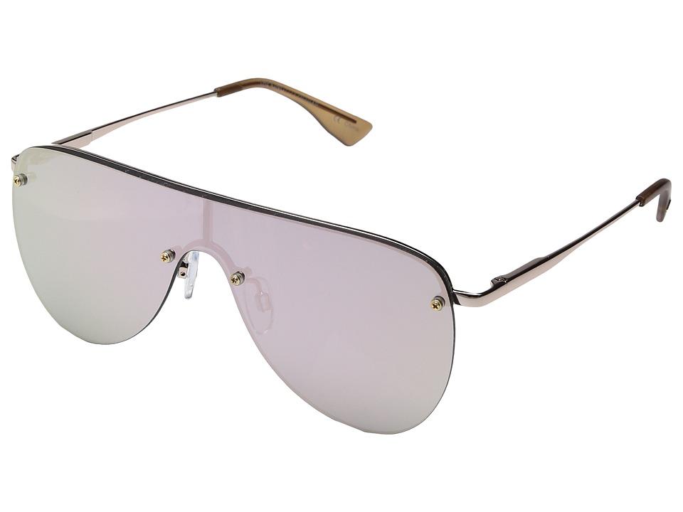 Le Specs The King (Rose Gold) Fashion Sunglasses
