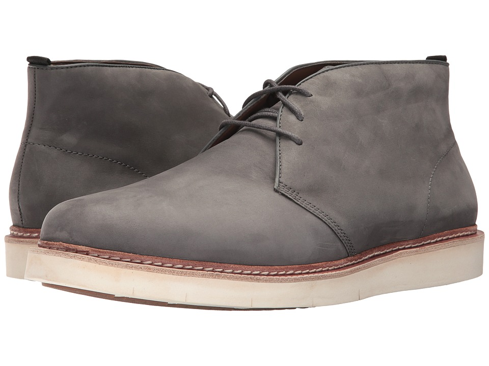 Cole Haan Tanner Chukka (Magnet Nubuck/Ivory) Men's Shoes