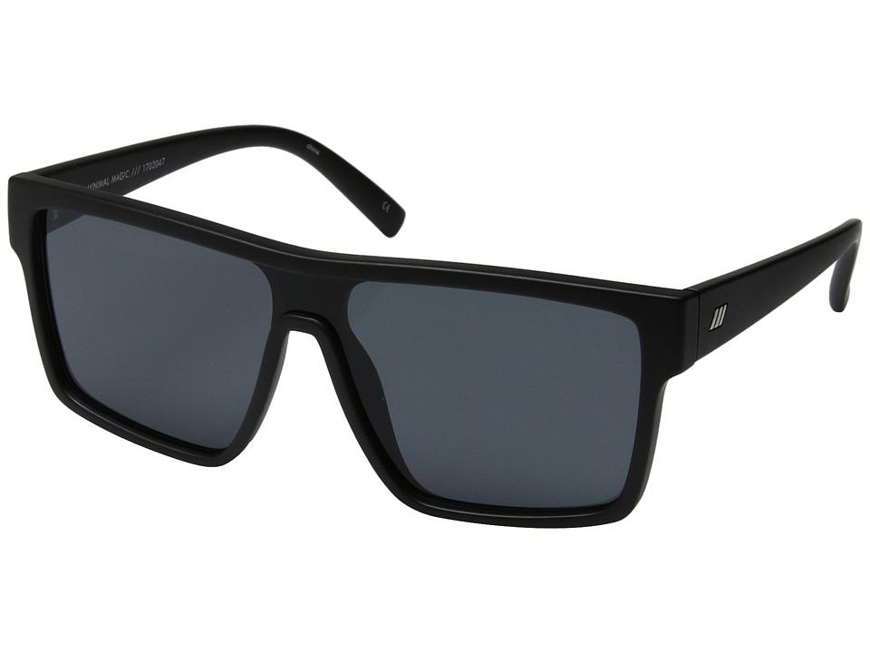 Le Specs - Minimal Magic (Matte Black) Fashion Sunglasses