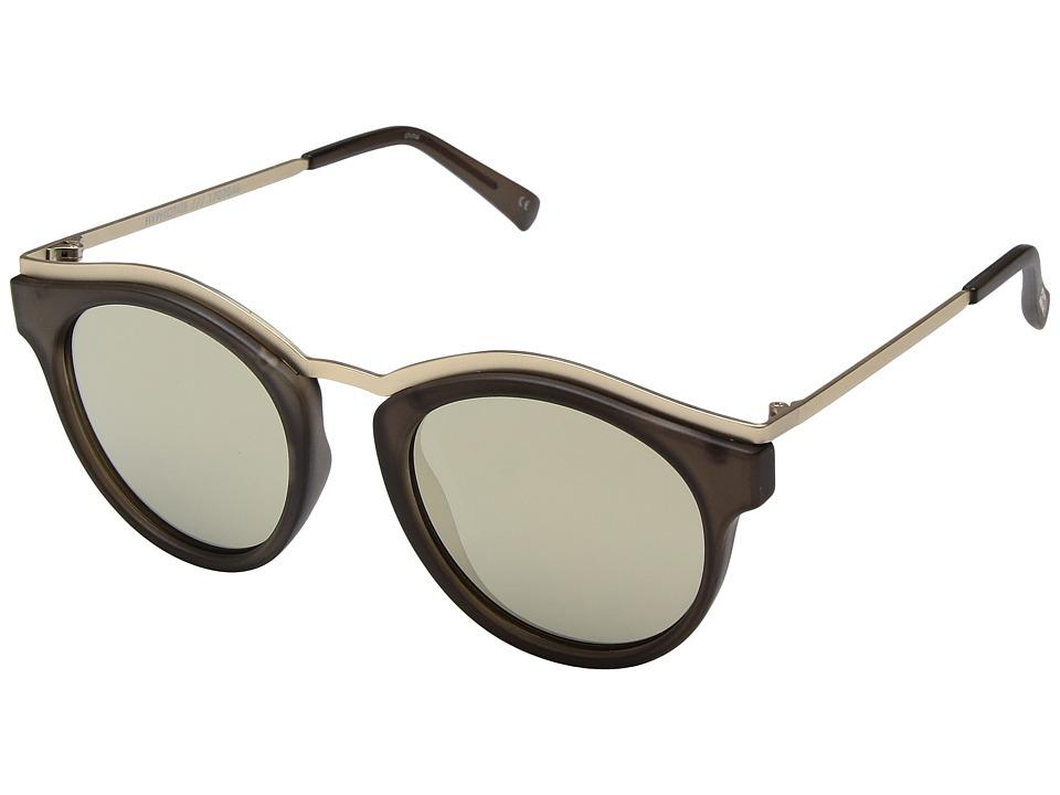 Le Specs Hypnotize (Matte Pebble) Fashion Sunglasses