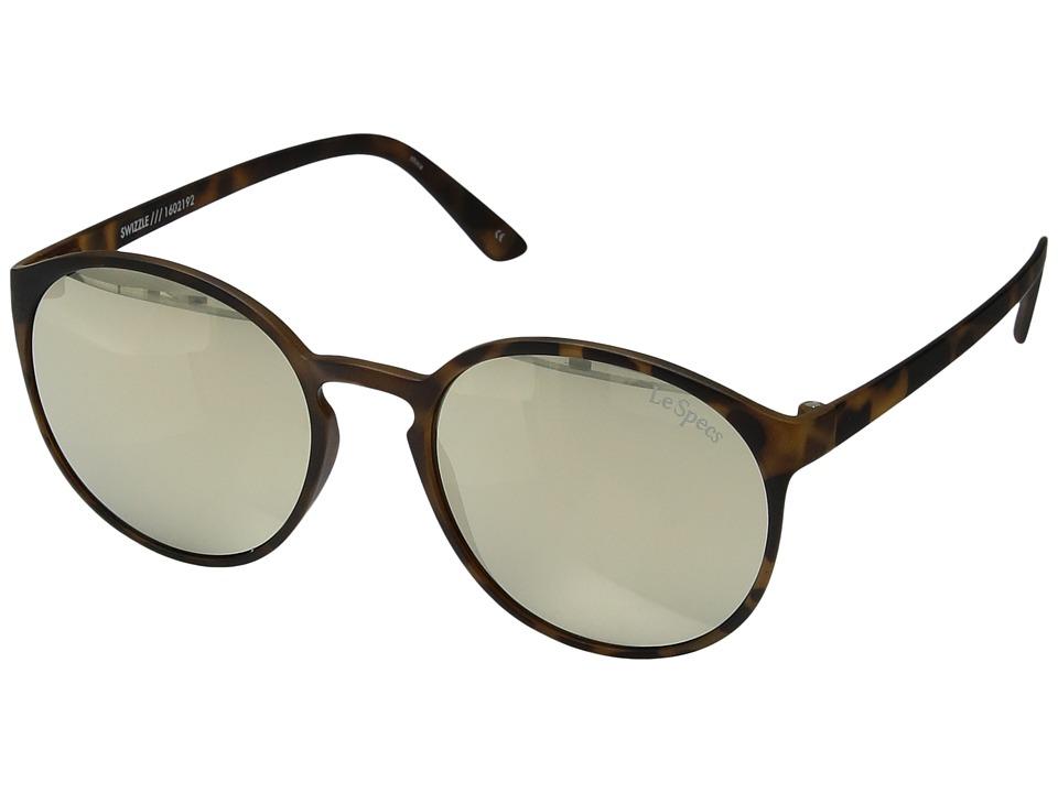 Le Specs Swizzle (Matte Tortoise) Fashion Sunglasses