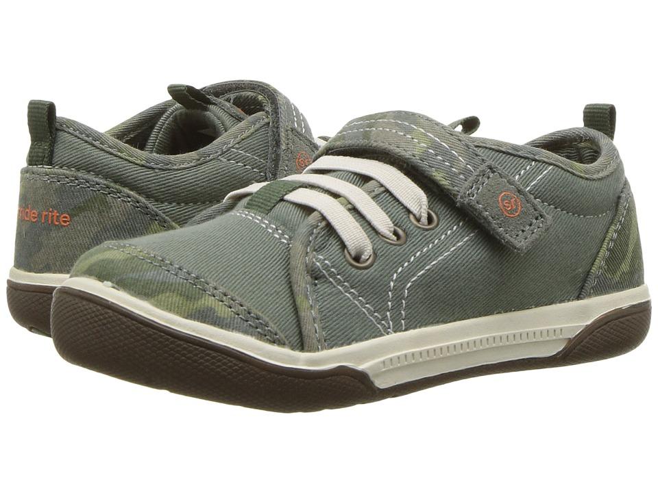 Stride Rite SR-Dakota (Toddler) (Green Camo) Boys Shoes