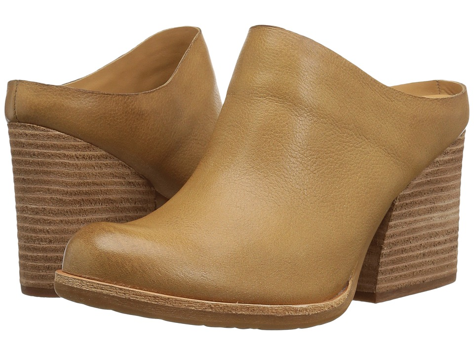 Kork-Ease Challis (Tan (Teak) Full Grain Leather) Clogs