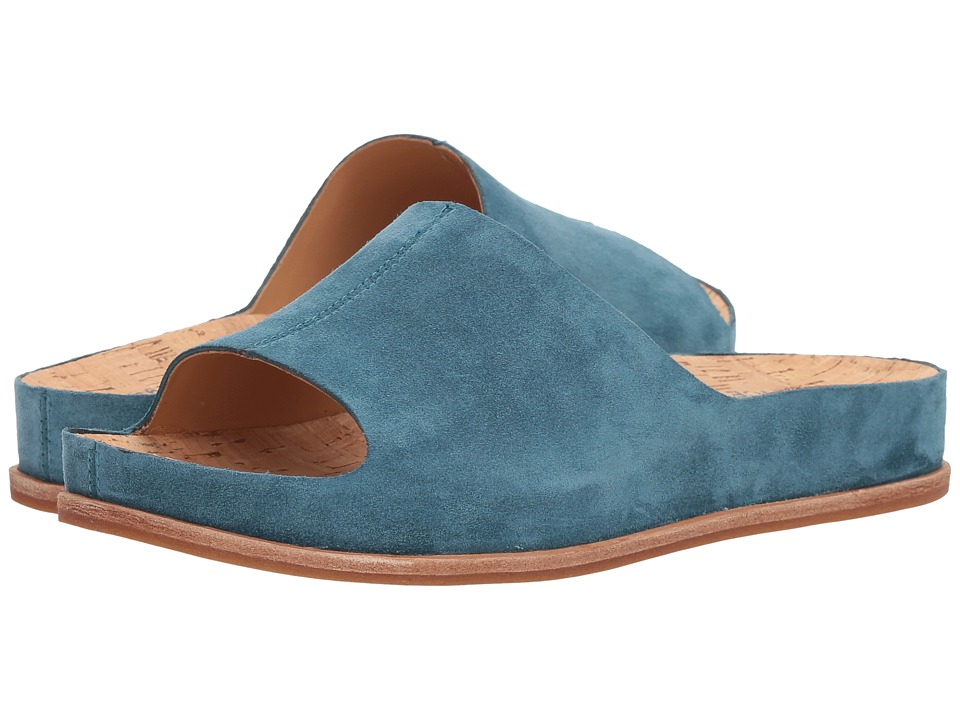 Kork-Ease Tutsi (Turquoise (Guinea) Suede) Women