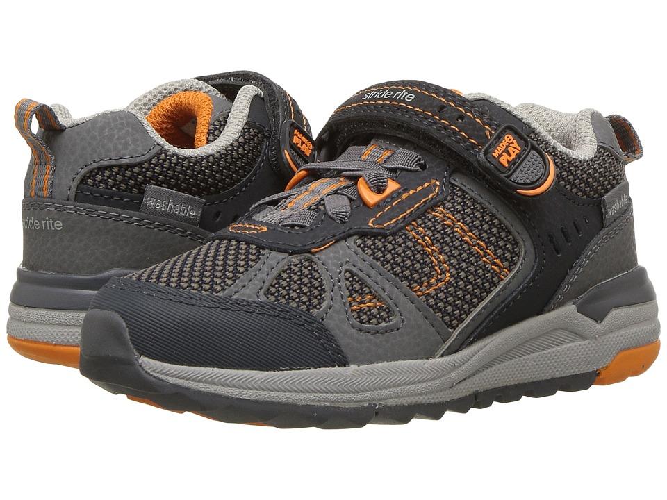 Stride Rite M2P Owen (Toddler/Little Kid) (Navy) Boys Shoes