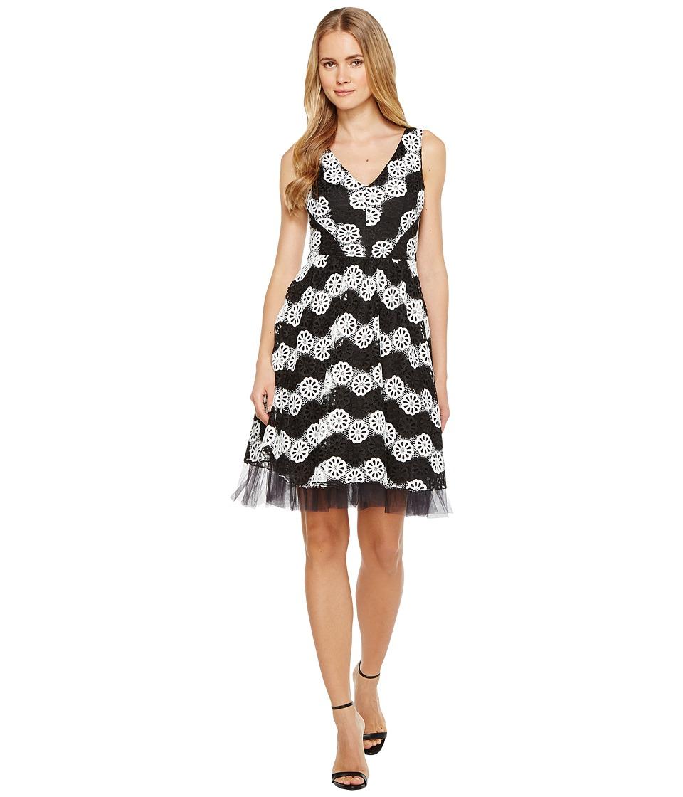 Eva by Eva Franco Valentina Dress (Black/White) Women