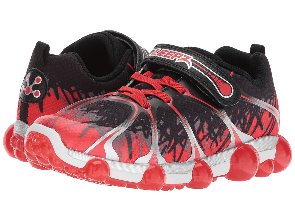 Stride Rite Leepz 2.0 (Toddler/Little Kid) (Red/Black) Boys Shoes