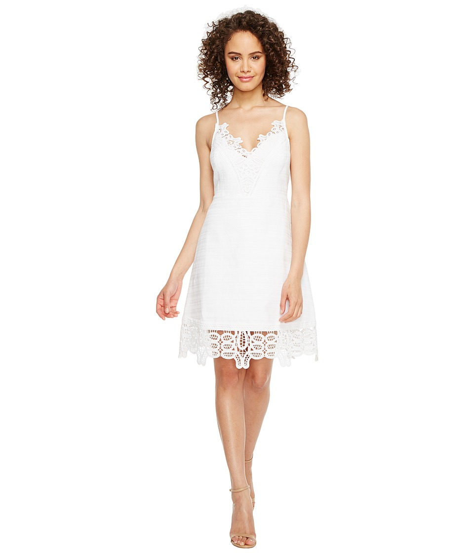 Laundry by Shelli Segal Laundry by Shelli Segal - A-Line Dress w/ Lace Trim