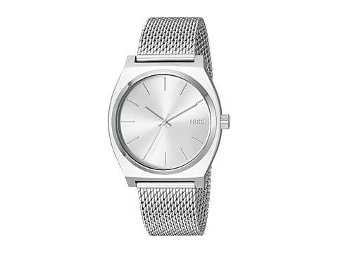 Nixon Time Teller Milanese - All Silver