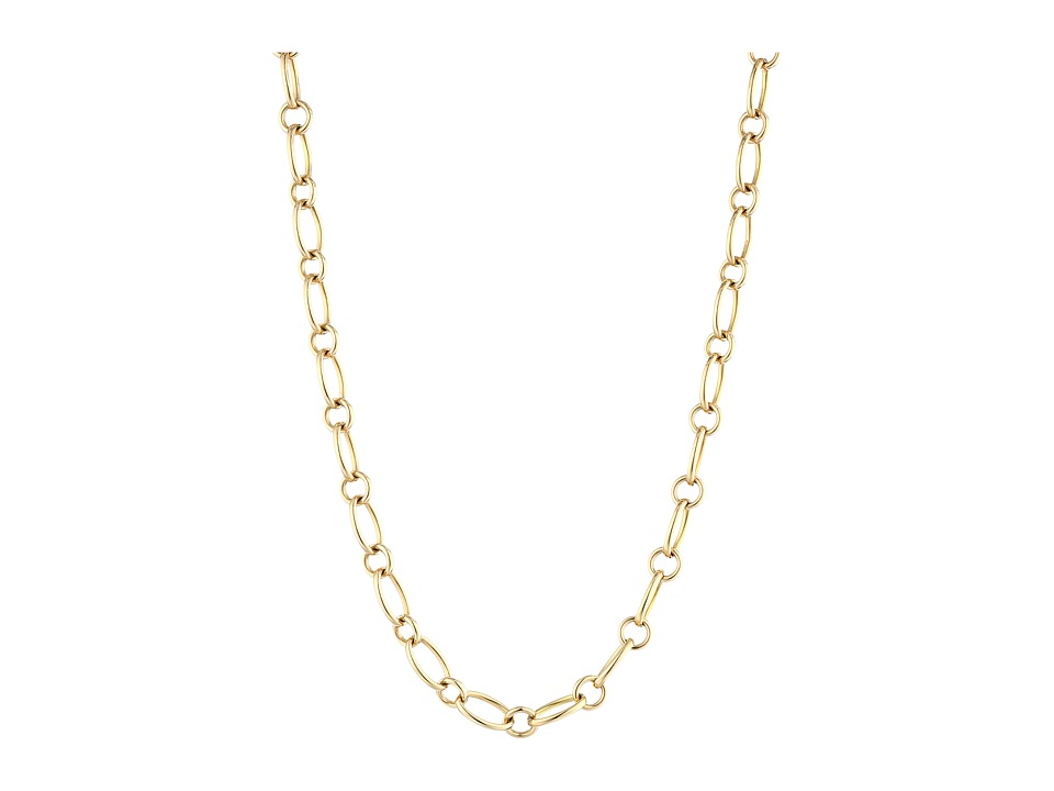 Roberto Coin - 18K Alternating Link 26 Chain Necklace