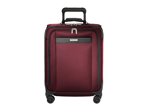Briggs & Riley Transcend VX Wide Carry-On Expandable Spinner - Merlot Red
