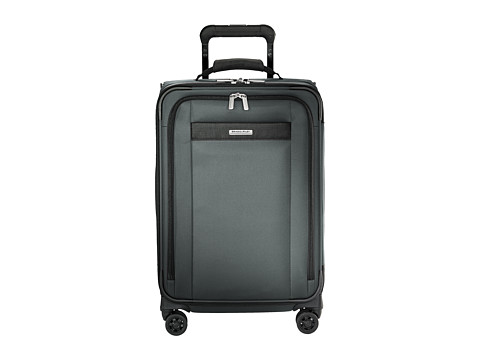 Briggs & Riley Transcend VX Tall Carry-On Expandable Spinner - Slate Grey