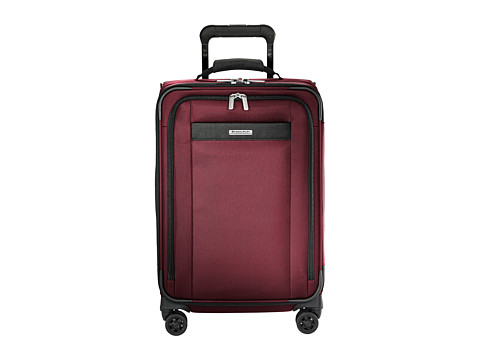 Briggs & Riley Transcend VX Tall Carry-On Expandable Spinner - Merlot Red