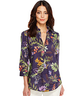 Ivanka Trump - Tropical Print Button Up Shirt