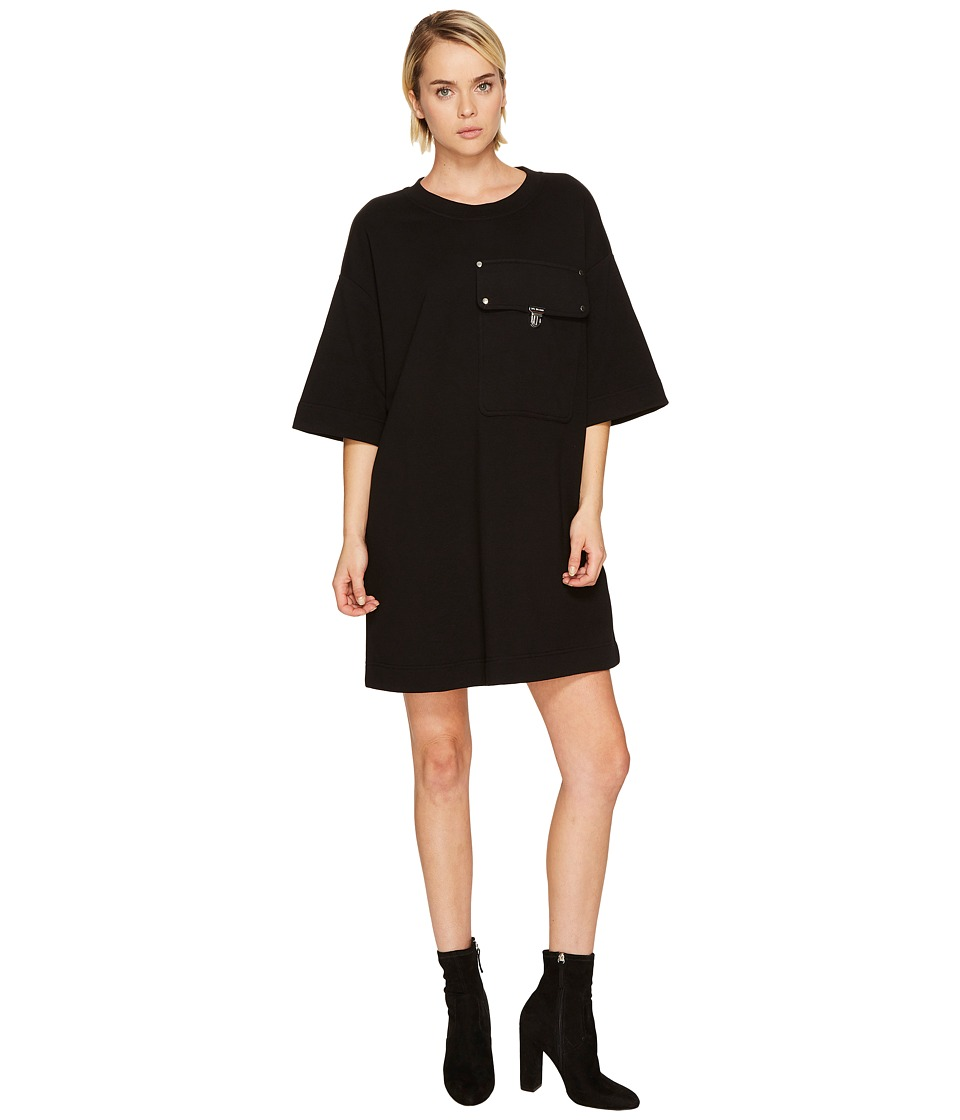 LOVE Moschino - Front Pocketed Mini Dress