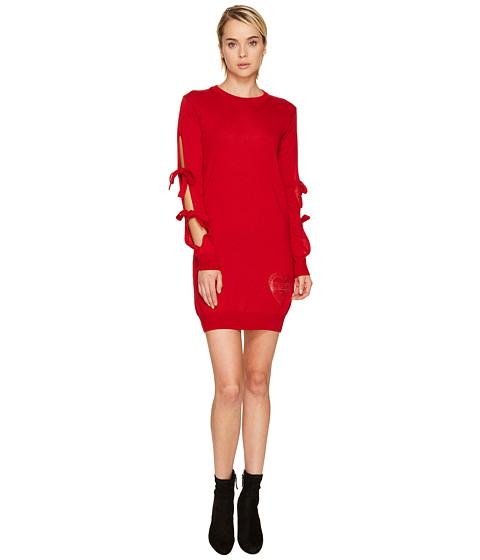 LOVE Moschino Long Tie Sleeve Sweater Dress