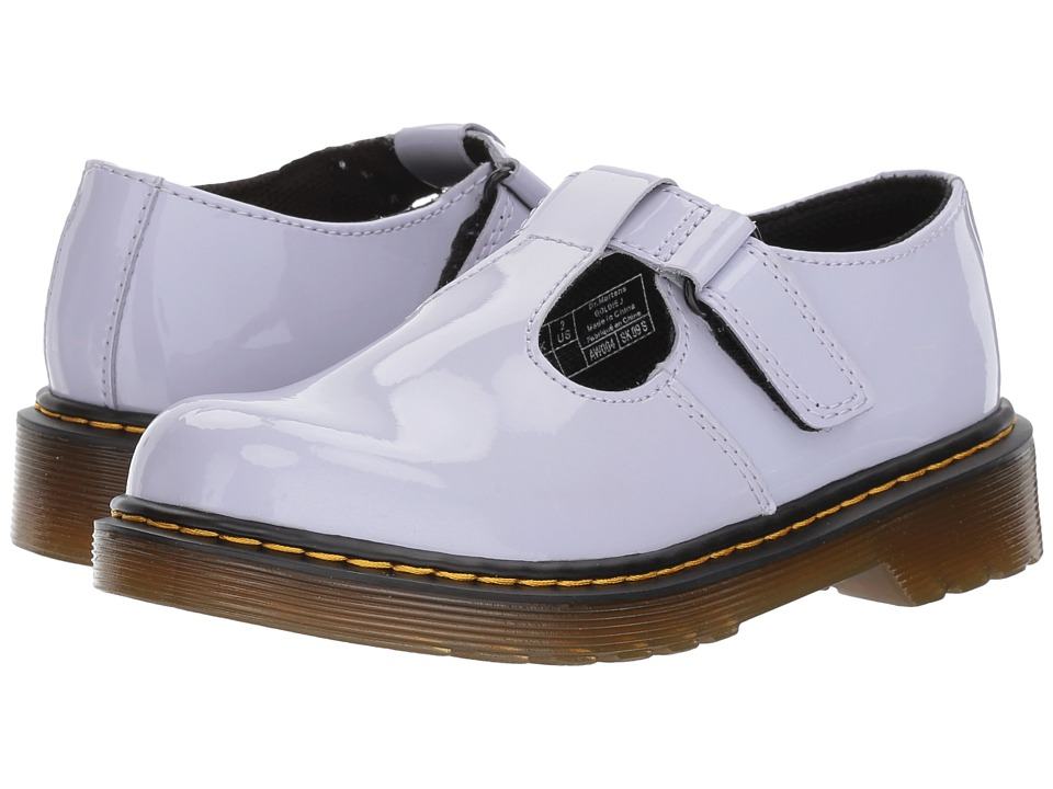 Dr. Martens Kid's Collection Goldie (Little Kid/Big Kid) (Purple Heather Patent Lamper) Girl's Shoes