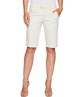 Ivanka Trump - Stretch Cotton Bermuda Shorts in Khaki