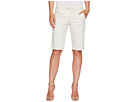 Stretch Cotton Bermuda Shorts in Khaki