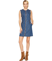 See by Chloe - Signature Denim Zip-Up Dress