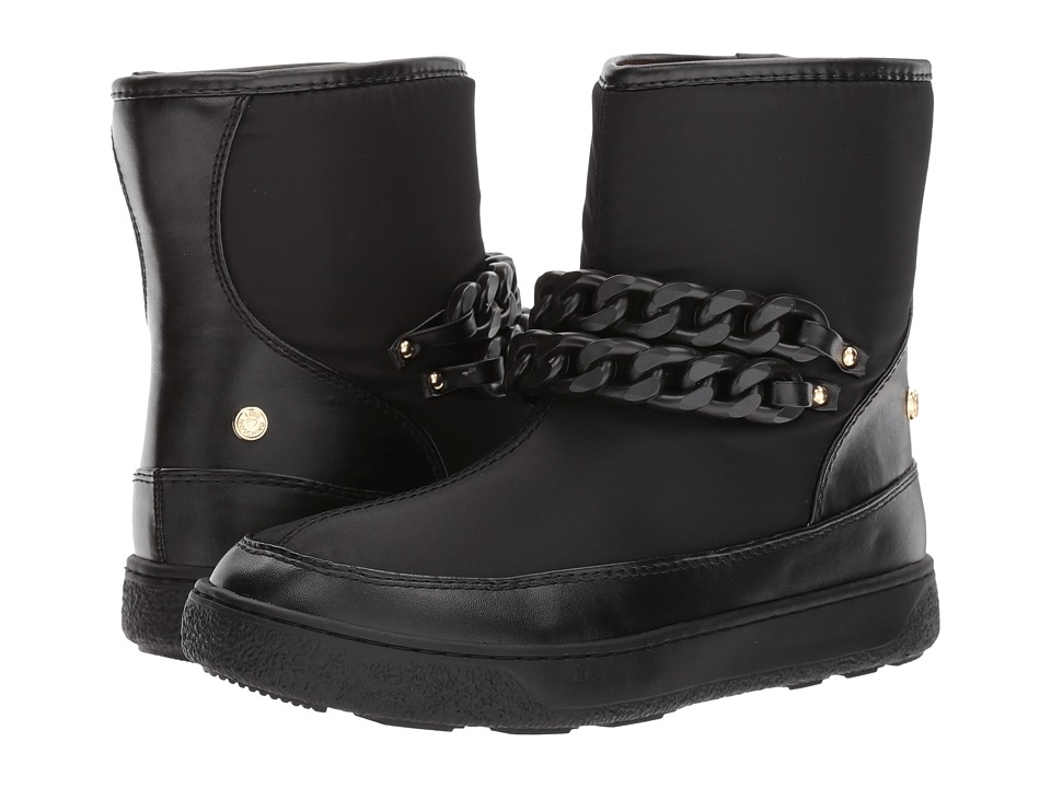 LOVE Moschino - Chain Winter Boot (Black/Black) Womens Boots