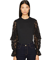 See by Chloe - Embellished Long Sleeve Tee
