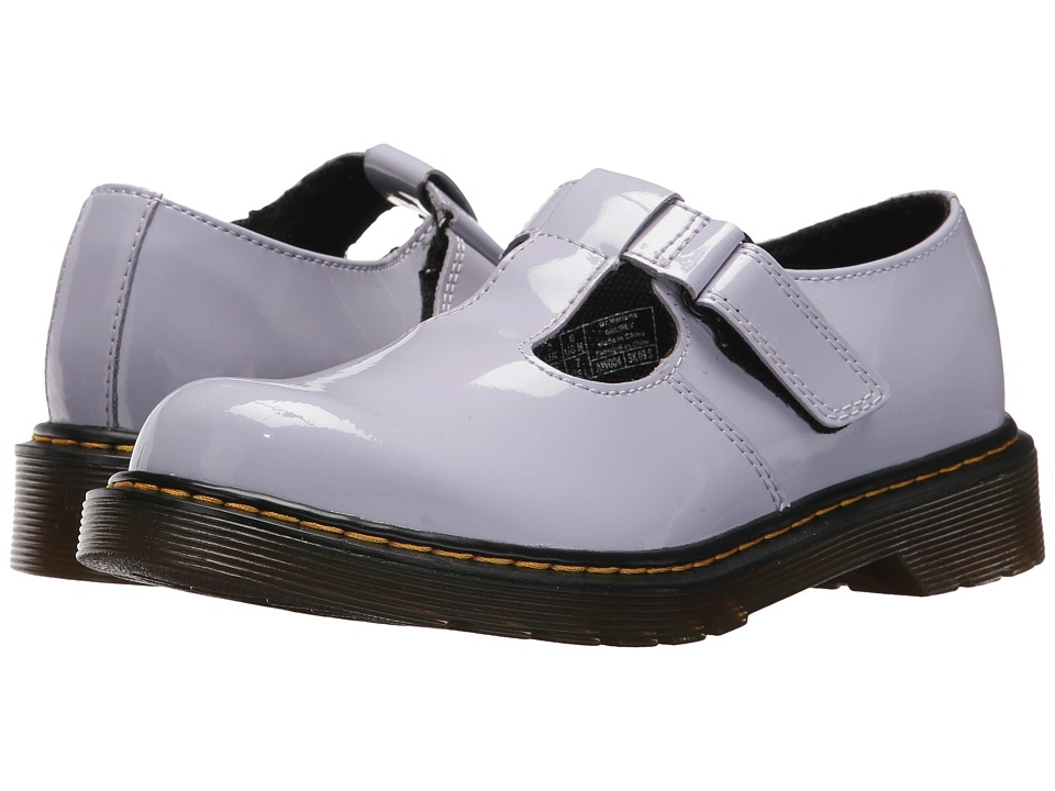 Dr. Martens Kid's Collection Goldie (Big Kid) (Purple Heather Patent Lamper) Girl's Shoes