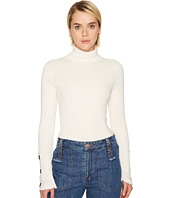 See by Chloe - Emebellished Turtleneck Sweater