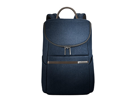 Briggs & Riley Kinzie Street - Small Wide Mouth Backpack - Navy