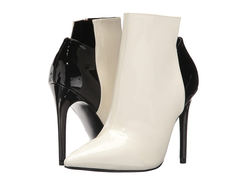 KENDALL + KYLIE Ariana 2 (White Multi Leather) Women