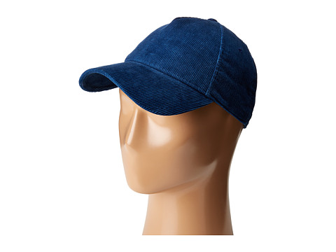 rag & bone Marilyn Baseball Cap - Navy Corduroy