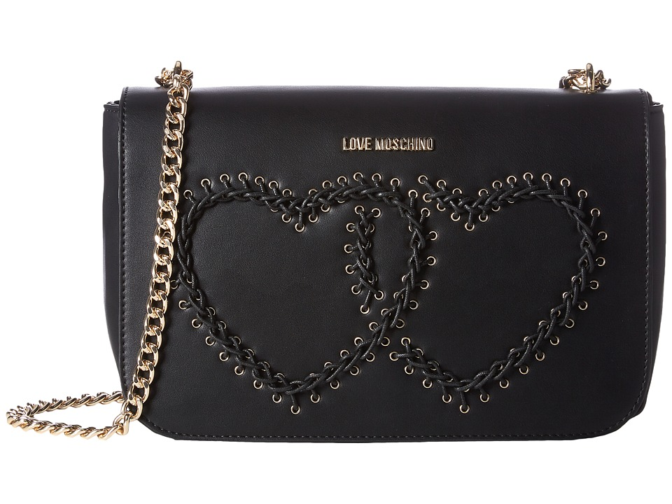LOVE Moschino - Stitched Heart Shoulder Bag