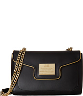 LOVE Moschino - Plaque Flap Shoulder Bag