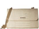 LOVE Moschino Croco Pu Shoulder Bag