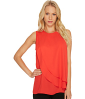Vince Camuto - Sleeveless Front Double Layer Blouse