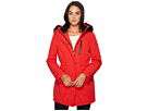Calvin Klein Softshell with Sherpa Lining and Detachable Fur Trimmed Hood