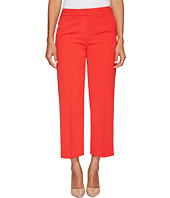 Vince Camuto Specialty Size - Petite Texture Base Straight Leg Crop Pants