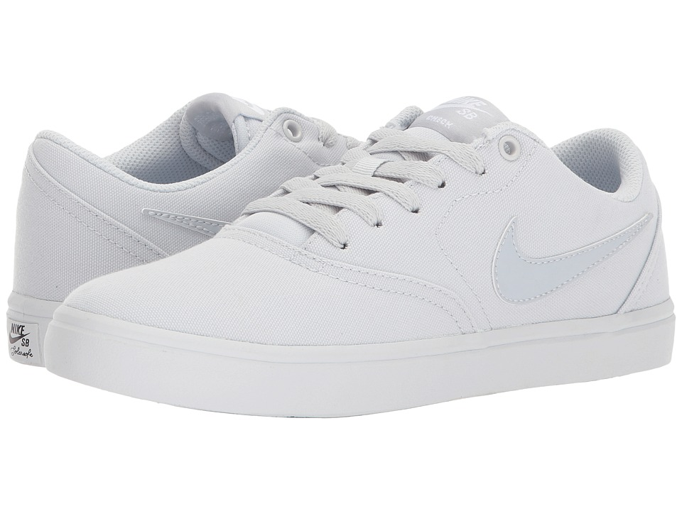Nike SB - Check SS Canvas (Pure Platinum/Pure Platinum/Wh...