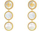 Tory Burch - Semi-Precious Drop Earrings