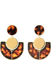 Tory Burch - Art Deco Statement Earrings