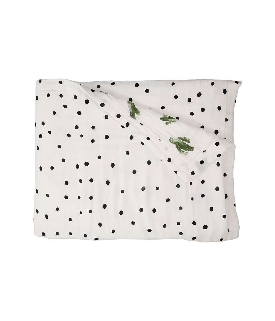 Bebe au Lait - Oh So Soft Luxury Muslin Snuggle Blanket (Saguaro/Dottie) Accessories Travel