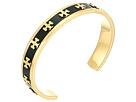 Tory Burch - Enamel Raised Logo Cuff Bracelet