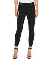 Ivanka Trump - Ponte Zipper Pants in Black