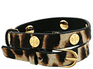 Tory Burch - Leopard Double-Wrap Bracelet