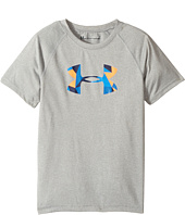 Under Armour Kids - Geo Cache Big Logo Tee (Little Kids/Big Kids)