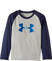 Under Armour Kids - Digital City Big Logo Raglan Tee (Little Kids/Big Kids)
