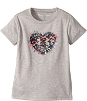 Under Armour Kids - Splatter Heart Tee (Toddler)
